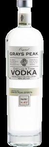 Grays Peak Small Batch Vodka