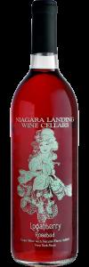 Niagara Landing Wine Cellars Loganberry Rosebud