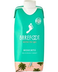 Barefoot wine-to-go Moscato
