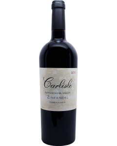 Carlisle Russian River Valley Papera Ranch Zinfandel