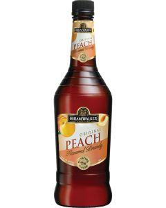 Hiram Walker Peach Flavored Brandy