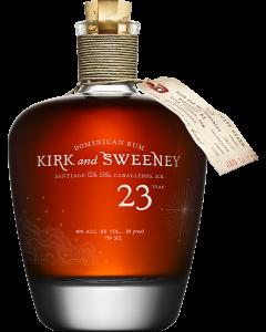 Kirk and Sweeney 23 Year Dominican Rum
