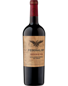 The Federalist Red Blend Aged In Bourbon Barrels For 6 Months