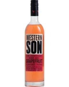 Western Son Ruby Red Grapefruit Flavored Vodka